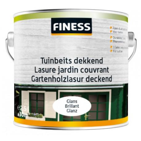 Finess Tuinbeits Dekkend Glans 2,5 Liter
