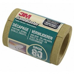 3M Sandblaster Schuurrol 2.5M P80