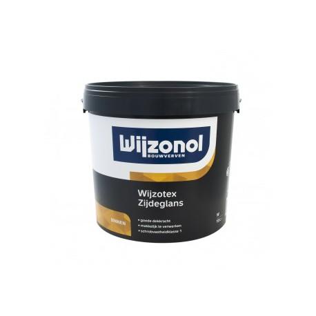 Wijzotex Zijdeglans Wit 10.0L