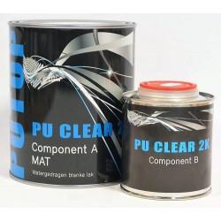 Neverlak Putop PU Clear 2K Mat