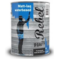 Rebel Paints Matt-laq Waterbased