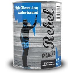 Rebel Paints High Gloss-laq Waterbased