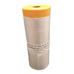 Storm Masking-Folie met tape (Gold) 2700mm x 20mtr