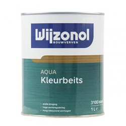 Wijzonol Aqua Kleurbeits 1 Liter / Trae Lyx kleuren
